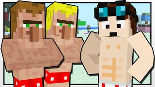 getlinkyoutube.com-Minecraft | THE BEACH CONTESTS!! | Custom Mod Adventure