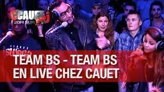 La Fouine avec la Team BS en live chez Cauet sur NRJ