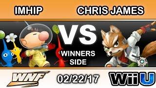 WNF 1.2 - TiE | ImHip (Olimar) Vs. Chris James (Fox) Winners Side - Smash Wii U