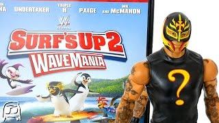 getlinkyoutube.com-WWE Surf's Up 2 WAVEMANIA Rey Mysterio WALMART EXCLUSIVE Toy & DVD Bundle Boxset Unboxing & Review!!