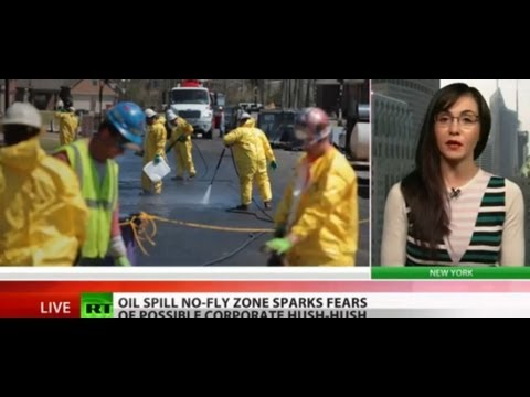 Media Grounded: No-fly zone over Arkansas oil spill to censor news coverage?