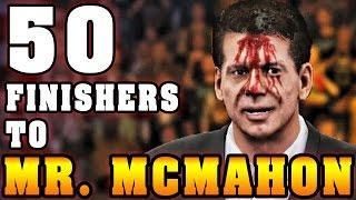 getlinkyoutube.com-WWE 2K16 | 50 Finishers To Vince McMahon