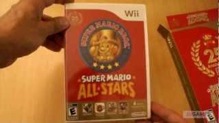 getlinkyoutube.com-Unboxing: Super Mario All Star 25 aniversario - Nintendo Wii -