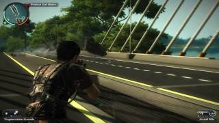 getlinkyoutube.com-Just Cause 2 - Car Chase Gameplay [HD]