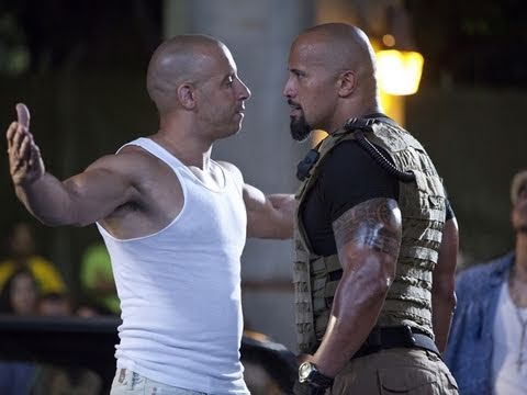"Fast & Furious Five (Dwayne ""The Rock"" Johnson) 