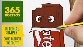 getlinkyoutube.com-COMO DIBUJAR UN CHOCOLATE KAWAII PASO A PASO - Dibujos kawaii faciles - How to draw a chocolat