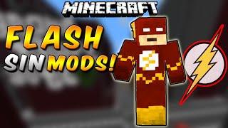SUPERHÉROE FLASH 100% FUNCIONAL SIN MODS!! En Minecraft Vanilla