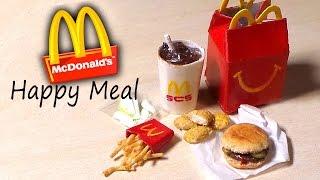 getlinkyoutube.com-Miniature Happy Meal - McDonald's Inspired Polymer Clay Tutorial