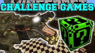 getlinkyoutube.com-Minecraft: DEVILJHO CHALLENGE GAMES - Lucky Block Mod - Modded Mini-Game