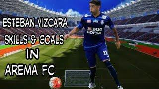• Silence • Esteban Vizcarra • Amazing Skills & Goals • IN Arema Fc • 2017 •