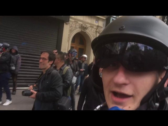 Paris - Randale am Tag der Arbeit