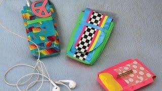 getlinkyoutube.com-How to Make a Duct Tape Smartphone Case | Sophie's World