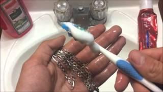 getlinkyoutube.com-!Como limpiar la plata y Oro!