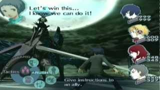 getlinkyoutube.com-Persona 3 Fes Final Boss - Nyx [Hard]