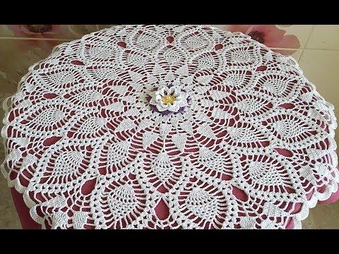 Crochet Doily How to crochet Part 3