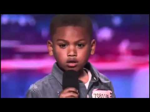 Howard Stern Makes 7-year-old Rapper Cry on America's Got Talent