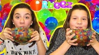 getlinkyoutube.com-Retos con Orbeez, canicas de agua o bolitas de gel. Orbeez Challenge