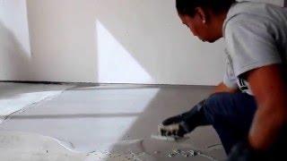 getlinkyoutube.com-Aprenda como fazer cimento queimado - Bautech