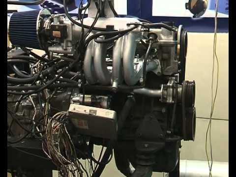 Влияние газа на двигатель.avi