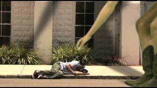 getlinkyoutube.com-the making of Black Cloud - #2 giant girl eats homeless man