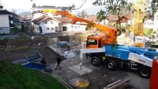 getlinkyoutube.com-CIFA K39H Carbotech - Austria - Pumping Concrete
