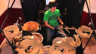 getlinkyoutube.com-Midnight City - Drum Cover - M83