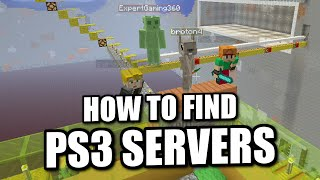 getlinkyoutube.com-Minecraft PS4 - HOW TO FIND SERVERS - How To - Tutorial ( PS3 / XBOX )