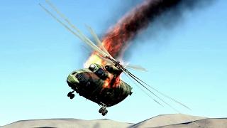 getlinkyoutube.com-DCS World 2 Helicopter Crashes Compilation #3 -1440p