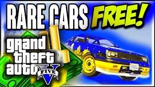 """getlinkyoutube.com-GTA 5 Online: RARE FREE CARS 1.31 """"Secret Rare Vehicles"""" """"Rare Cars"""" (GTA 5 Cars Guide)"""