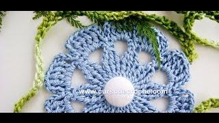 getlinkyoutube.com-FLORES EM CROCHE AZUL FLOR 034