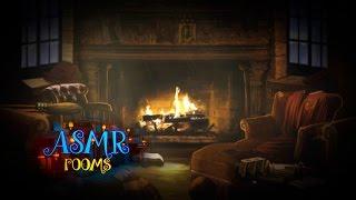 getlinkyoutube.com-Harry Potter ASMR - Gryffindor Common Room - Ambient sound white noise (rain, fire place etc) - HD