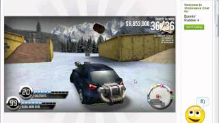getlinkyoutube.com-Burnin rubber 4 , how to find the snow peak BOSS TICKET