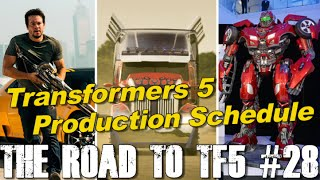 getlinkyoutube.com-Timeline for Transformers 5 production (tentative) - [THE ROAD TO TF5 #28]
