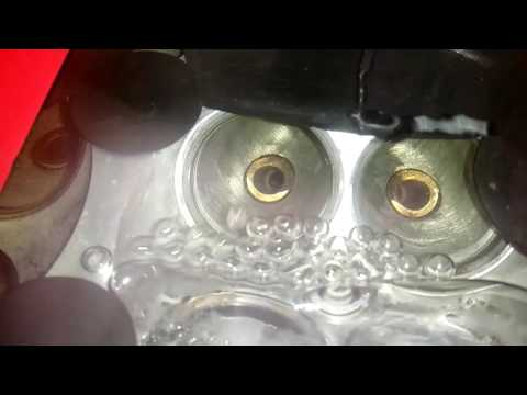Опрессовка ГБЦ а/м ВАЗ 16v (трещина у направляющей клапана)