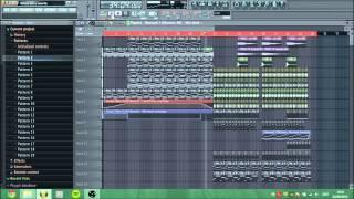 Where Are Ü Now - Skrillex & Diplo (feat. Justin Bieber) (Fl Studio remake + Flp)