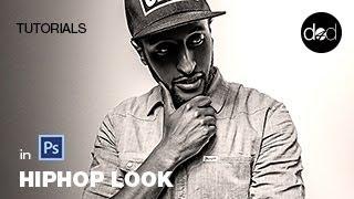 getlinkyoutube.com-HIPHOP Look in Photoshop - doric4design - Folge 18