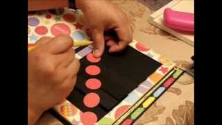How to make waterfall mats for mini albums