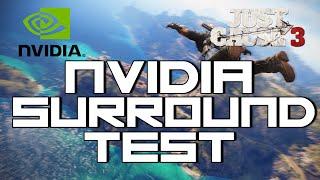 [PC] Just Cause 3  NVidia Surround Gaming Test - EVGA GTX-970 SLI, Intel i7-4790k