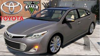 getlinkyoutube.com-GTA V Mods - Toyota Avalon
