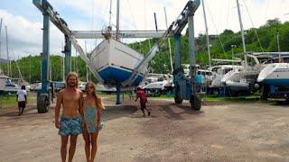 Haul out and Back to Australia! (Sailing La Vagabonde) Ep. 21