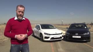 getlinkyoutube.com-Episode 377 - Comparison VW Golf R vs VW Scirocco R