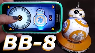 Unboxing and Testing: BB-8 App-Enabled Droid ~ SPHERO Star Wars Toy