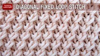 getlinkyoutube.com-Diagonal Fixed Loop Stitch