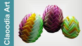getlinkyoutube.com-Jajko karczochowe (Ribbon Easter Eggs)