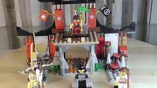 getlinkyoutube.com-LEGO Ninjago Set 70756 Finale im Dojo Unboxing & Review deutsch german