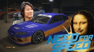 "getlinkyoutube.com-Fast & Furious Han's Nissan Silvia S15 ""MONALISA"" Tokyo Drift - NEED FOR SPEED 2015 PS4"
