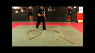 getlinkyoutube.com-HARRISON MARTIAL ARTS-Kali Footwork Drill