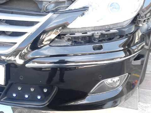 Установленные светодиоды на Hyundai Genesis (AutoPlus)