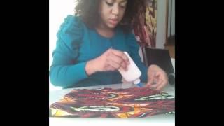 getlinkyoutube.com-D.I.Y  African Clucth