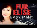 How To Play Fur Elise - Ludwig van Beethoven -  Easy Piano Tutorial